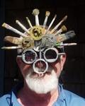 My Steampunk Artist's Goggles by Al Letner