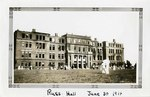 1914-06-30: Russ Hall, the day after the fire of 1914 by Ferguson's Studio