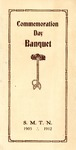 Commemoration Day Banquet, 1912