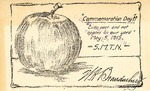 Commemoration Day Postcard, 1915