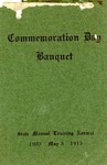 Commemoration Day Banquet, 1913