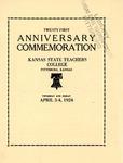 Anniversary Commemoration