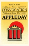 Convocation Pittsburg State University Appleday, 1982
