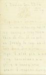 Letter 2 Page 1 by Laura Dewey Bridgman