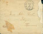 Letter 5 Envelope by Laura Dewey Bridgman