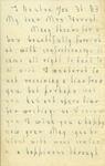 Letter 6 Page 1 by Laura Dewey Bridgman