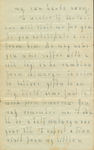 Letter 3 Page 3 by Laura Dewey Bridgman