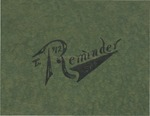Caney High School Yearbook, 1912