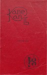 Caney High School Yearbook, 1915