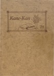 Caney High School Yearbook, 1928