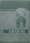 Caney High School Yearbook, 1953 by Caney High School