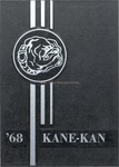 Caney High School Yearbook, 1968 by Caney High School