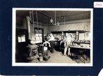 Photograph, Barber Shop Niotaze, Kansas
