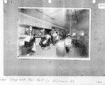 Photograph, Barber Shop and Pool Hall in Niotaze, Kansas