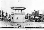Photograph, Gazebo on Main Street Sedan, Kansas