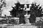 Photograph, Houses in Cedar Vale, Kansas