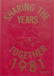Caney Valley High School Yearbook, 1981 by Caney Valley High School