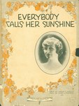 Everybody Calls Her Sunshine by Carson and Chas. L. Robison and Johnson