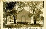 Catholic Church in Arcadia, Kansas by Ira Clemens