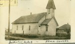 Baptist Church in Arma, Kansas by Ira Clemens