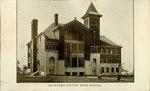 Crawford County Community School in Cherokee, Kansas by Ira Clemens