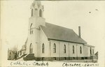 Catholic Church in Chicopee, Kansas by Ira Clemens