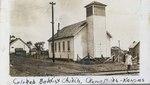 Baptist Church in Croweburg, Kansas by Ira Clemens