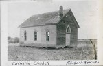Catholic Church in Edison, Kansas by Ira Clemens