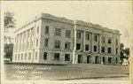 Crawford County Courthouse in Girard, Kansas by Ira Clemens