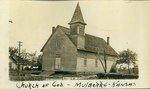 Church of God Church in Mulberry, Kansas by Ira Clemens