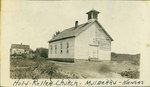 Church in Mulberry, Kansas by Ira Clemens