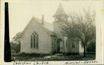 Christian Church in Mineral, Kansas by Ira Clemens
