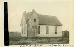 Baptist Church in Skidmore, Kansas by Ira Clemens