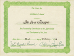 Certificate, 1978 October 1, The Links Inc. by Links Inc.