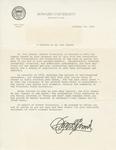 Certificate, 1982 October 25, Tribute by James E. Cheek, former President of Howard University by James E. Cheek