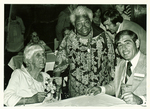 Eva Jessye, Lillian Carter, and Donald Allegrucci by Unknown