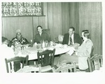 Eva Jessye during a dinner by Bob Kalmbach