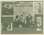 Collage of George and Ira Gershwin and DeBose Heyward by Unknown
