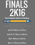 Finals 2K16 by Leonard H. Axe Library