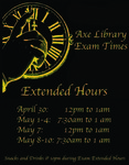 2017 Spring Dead Week & Finals Hours