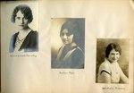 Eurydice Club Records, 1903 - 1929