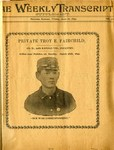 Fairchild, Troy E. (1874- 1899) Collection, Spanish- American War, 1897-1900 by Special Collections, Leonard H. Axe Library