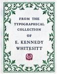 Whitesitt, E. Kennedy, Collection