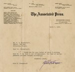 Brinkerhoff, Fred, Papers, 1905-1930