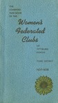 Women's Federated Clubs Collection, 1900-1981