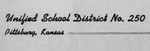 Pittsburg Board of Education Collection, 1871-1987