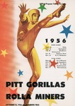 Rolla Miners vs. Pitt Gorillas by Kansas State Teachers College