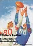 Southwestern Moundbuilders vs. Pittsburg Gorillas