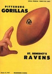 St. Benedict's Ravens vs. Pittsburg Gorillas by Kansas State Teachers College