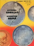 Springfield Bears vs. Pittsburg Gorillas by Kansas State Teachers College